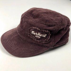 ⭐️Carhartt Hat Maroon Corduroy Women Military Cap